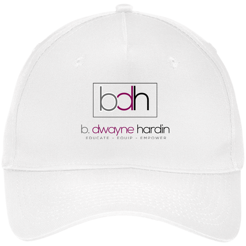 BDH Five Panel Twill Cap Hats- Warrior Design Co. | Quality Affordable Branding Solutions