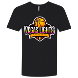 Vegas Lights Fitted V-Neck T-Shirts- Warrior Design Co. | Quality Affordable Branding Solutions