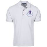 Innovation Life Knit Polo Polo Shirts- Warrior Design Co. | Quality Affordable Branding Solutions