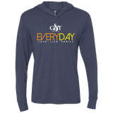 Everyday Hooded T-Shirt T-Shirts- Warrior Design Co. | Quality Affordable Branding Solutions