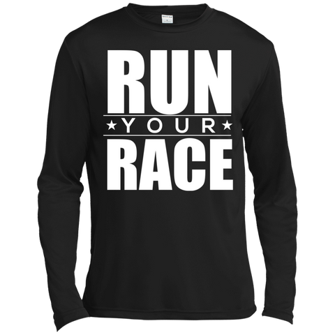Run Your Race Moisture Absorbing T-Shirt T-Shirts- Warrior Design Co. | Quality Affordable Branding Solutions