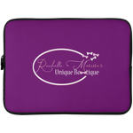Rachelle Marissa  Laptop Sleeve - 15 Inch Laptop Sleeves- Warrior Design Co. | Quality Affordable Branding Solutions
