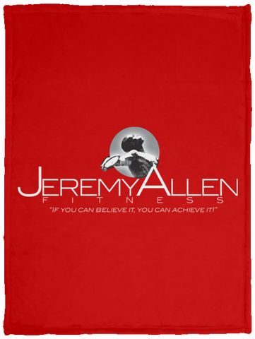 Jeremy Allen Cozy Plush Fleece Blanket - 30x40 Blankets- Warrior Design Co. | Quality Affordable Branding Solutions
