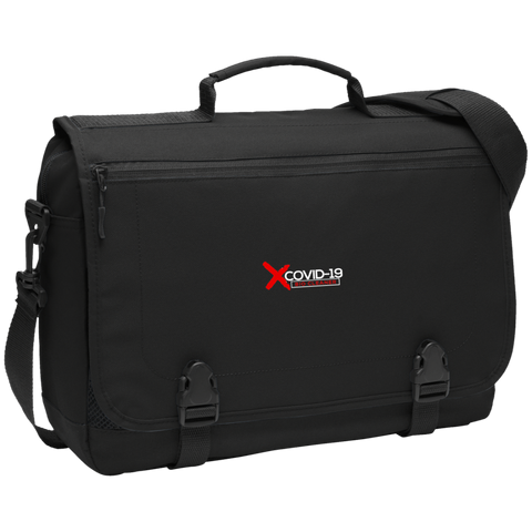 X Covid-19 Messenger Briefcase Bags- Warrior Design Co. | Quality Affordable Branding Solutions