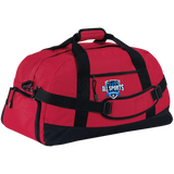 All Sports Recruiter Large-Sized Duffel Bag Bags- Warrior Design Co. | Quality Affordable Branding Solutions