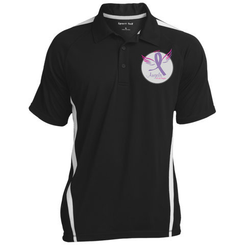 Angels of Las Vegas Men's 3-Button Polo Polo Shirts- Warrior Design Co. | Quality Affordable Branding Solutions