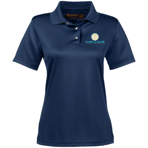 Mark Sivek Women's Performance Polo Polo Shirts- Warrior Design Co. | Quality Affordable Branding Solutions