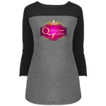 Queens Create Queens 3/4 Sleeve T-Shirt T-Shirts- Warrior Design Co. | Quality Affordable Branding Solutions