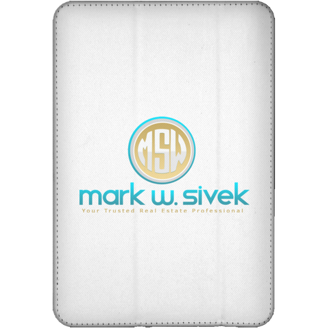 Mark Sivek iPad Mini Flip Case Tablet Covers- Warrior Design Co. | Quality Affordable Branding Solutions