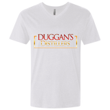 Duggan's Distillers Fitted V-Neck T-Shirts- Warrior Design Co. | Quality Affordable Branding Solutions