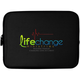 Life Change Laptop Sleeve - 10 inch Laptop Sleeves- Warrior Design Co. | Quality Affordable Branding Solutions