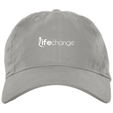 Life Change Unstructured Cap Hats- Warrior Design Co. | Quality Affordable Branding Solutions