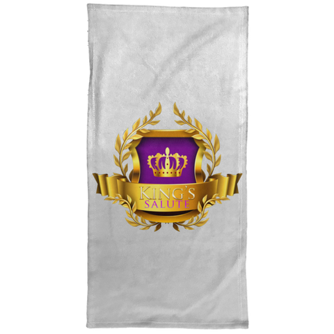 King's Salute  Hand Towel - 15x30 Towels- Warrior Design Co. | Quality Affordable Branding Solutions