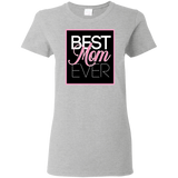 Best Mom Ever Women's T-Shirt T-Shirts- Warrior Design Co. | Quality Affordable Branding Solutions