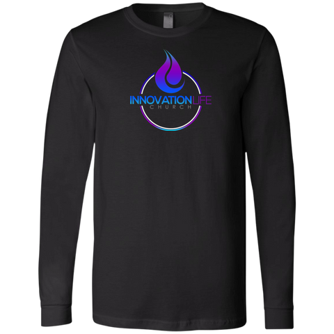 Innovation Life Men's Jersey LS T-Shirt T-Shirts- Warrior Design Co. | Quality Affordable Branding Solutions