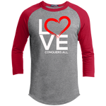 Love Conquers All  Sporty Men's T-Shirt - Warrior Design Co. | Quality Affordable Branding Solutions