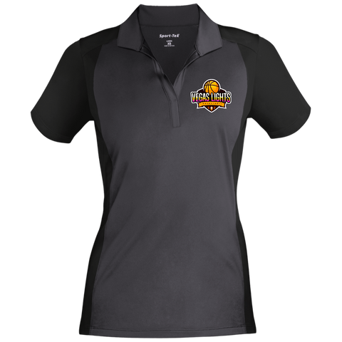 Vegas Lights Women's Sport-Wick Polo Polo Shirts- Warrior Design Co. | Quality Affordable Branding Solutions