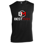 Best Man Performance T-Shirt T-Shirts- Warrior Design Co. | Quality Affordable Branding Solutions