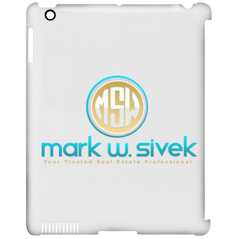 Mark Sivek iPad Clip Case Tablet Covers- Warrior Design Co. | Quality Affordable Branding Solutions