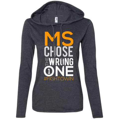 Fight MS Women's Hoodie T-Shirts- Warrior Design Co. | Quality Affordable Branding Solutions