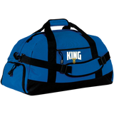 King Large-Sized Duffel Bag Bags- Warrior Design Co. | Quality Affordable Branding Solutions