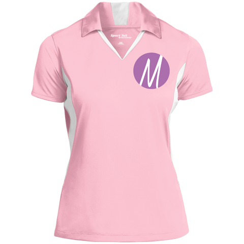 MM (icon) Performance Polo Polo Shirts- Warrior Design Co. | Quality Affordable Branding Solutions
