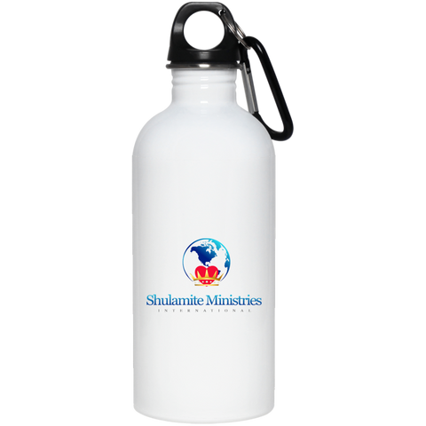 Shulamite 20 oz. Stainless Steel Water Bottle Drinkware- Warrior Design Co. | Quality Affordable Branding Solutions