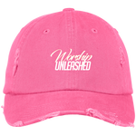 Worship Unleashed Distressed Cap Hats- Warrior Design Co. | Quality Affordable Branding Solutions