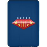 Super Mom iPad Mini Flip Case Tablet Covers- Warrior Design Co. | Quality Affordable Branding Solutions