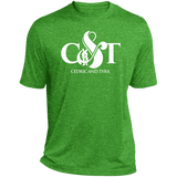 Cedric & Tyra Moisture-Wicking T-Shirt T-Shirts- Warrior Design Co. | Quality Affordable Branding Solutions