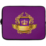King's Salute Laptop Sleeve - 13 inch Laptop Sleeves- Warrior Design Co. | Quality Affordable Branding Solutions