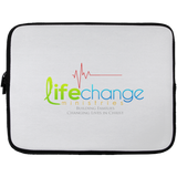 Life Change Laptop Sleeve - 13 inch Laptop Sleeves- Warrior Design Co. | Quality Affordable Branding Solutions