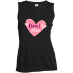 The Best Mom Moisture Absorbing V-Neck T-Shirts- Warrior Design Co. | Quality Affordable Branding Solutions