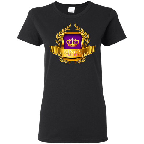 King's Salute Women's T-Shirt T-Shirts- Warrior Design Co. | Quality Affordable Branding Solutions