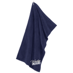 Worship Unleashed Microfiber Golf Towel Towels- Warrior Design Co. | Quality Affordable Branding Solutions