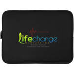 Life Change Laptop Sleeve - 15 Inch Laptop Sleeves- Warrior Design Co. | Quality Affordable Branding Solutions