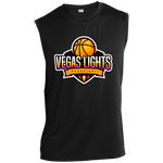 Vegas Lights Performance T-Shirt T-Shirts- Warrior Design Co. | Quality Affordable Branding Solutions