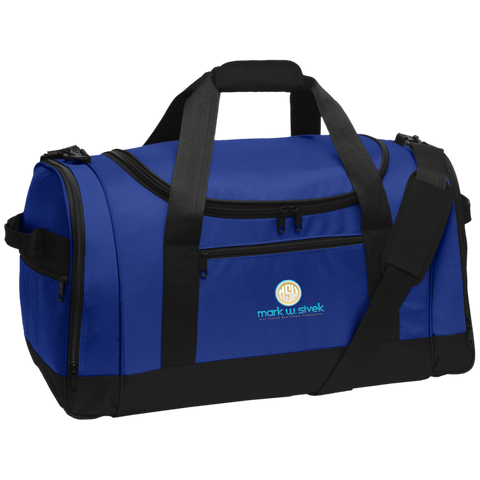 Mark Sivek Sports Duffel Bags- Warrior Design Co. | Quality Affordable Branding Solutions