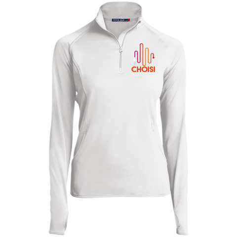 CHOISI 1/2 Zip Performance Pullover Jackets- Warrior Design Co. | Quality Affordable Branding Solutions