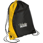 Worship Unleashed Colorblock Cinch Pack Bags- Warrior Design Co. | Quality Affordable Branding Solutions