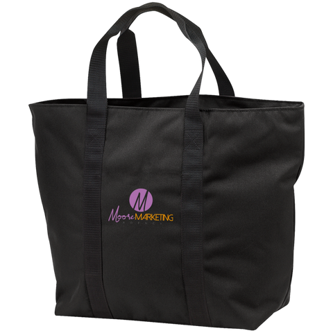 Moore Marketing Tote Bag Bags- Warrior Design Co. | Quality Affordable Branding Solutions