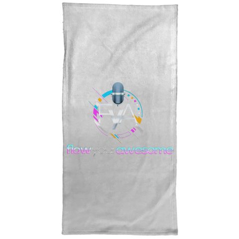 Flow Your Awesome Hand Towel - 15x30 Towels- Warrior Design Co. | Quality Affordable Branding Solutions