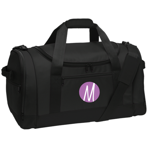 Moore Marketing Icon Travel Sports Duffel Bags- Warrior Design Co. | Quality Affordable Branding Solutions