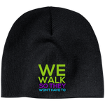 Run/Walk 4 Water Beanie Hats- Warrior Design Co. | Quality Affordable Branding Solutions