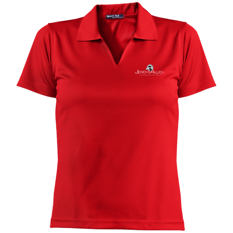 Jeremy Allen Short Sleeve Polo Polo Shirts- Warrior Design Co. | Quality Affordable Branding Solutions