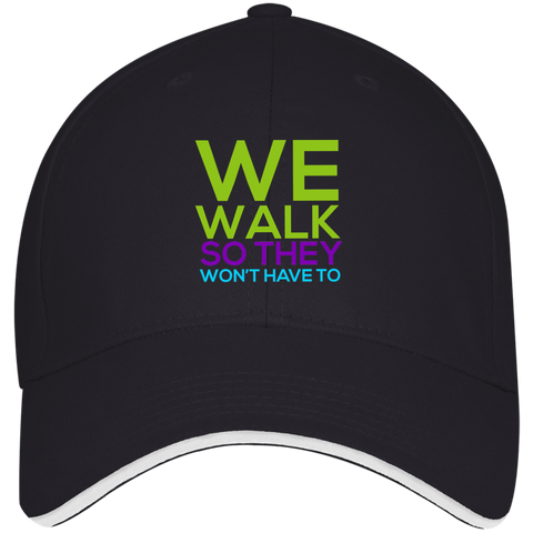 Run/Walk 4 Water Baseball Cap Hats- Warrior Design Co. | Quality Affordable Branding Solutions