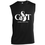 Cedric & Tyra Performance T-Shirt T-Shirts- Warrior Design Co. | Quality Affordable Branding Solutions