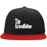 The Grandfather High-Profile Snapback Hat Hats- Warrior Design Co. | Quality Affordable Branding Solutions