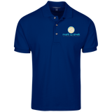 Mark Sivek Men's Knit Polo Polo Shirts- Warrior Design Co. | Quality Affordable Branding Solutions