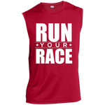 Run Your Race Performance T-Shirt T-Shirts- Warrior Design Co. | Quality Affordable Branding Solutions